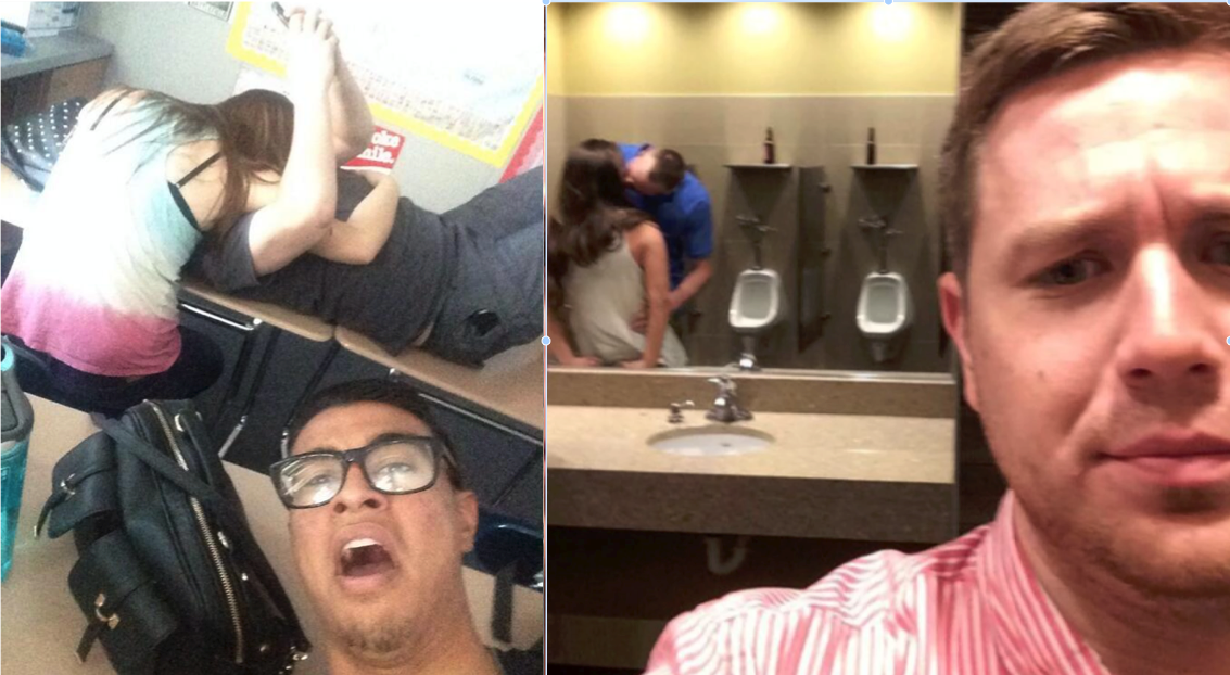 14 Photos Of Couples That Went Too Far With PDA | TheTalko