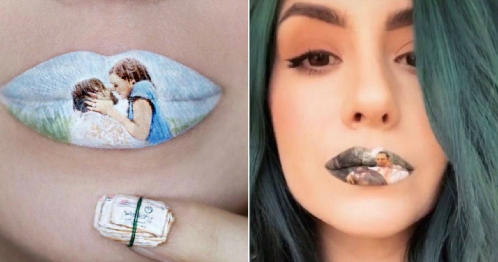 This Makeup Artist Has Mastered The Craft Of Making Lip Art Inspired By Pop Culture