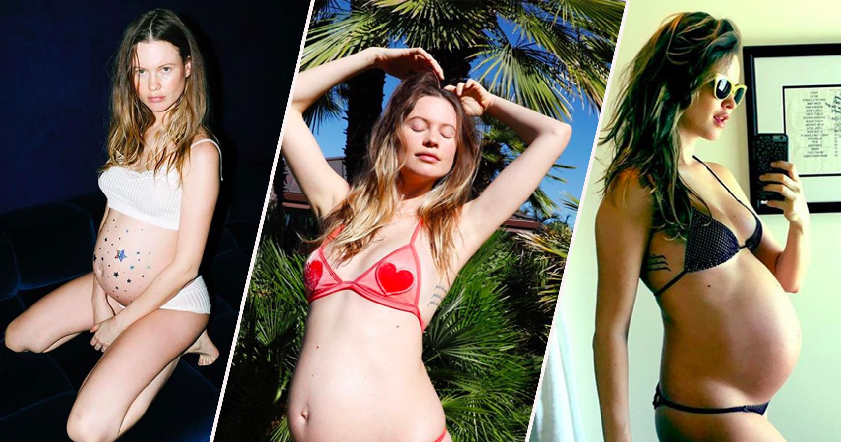 Cheeky behati prinsloo shares naked photo of husband adam levine and daughter dusty